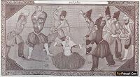 تصوير تاريخي از سنگسار در عهد قاجار