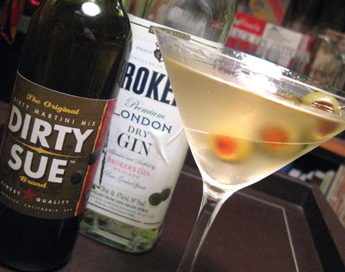 The Dirty Martini...extra dirty...