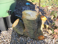 decorative cherry tree stump