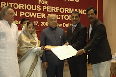 APEPDCL got National Award for Meritorious performance in power sector