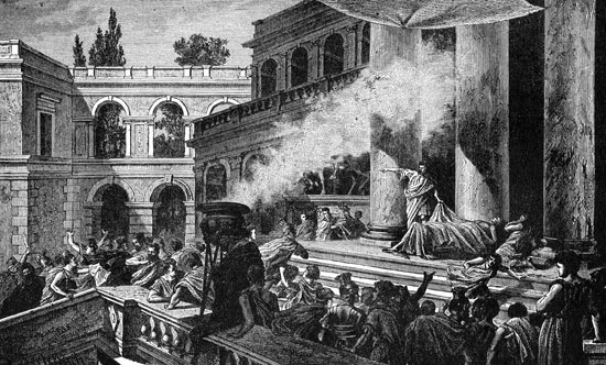 julius caesar funeral oration essay