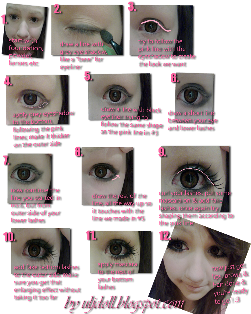 big eye doll makeup - photo #41