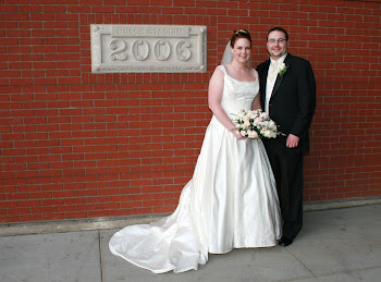 Our Wedding Day in 2006