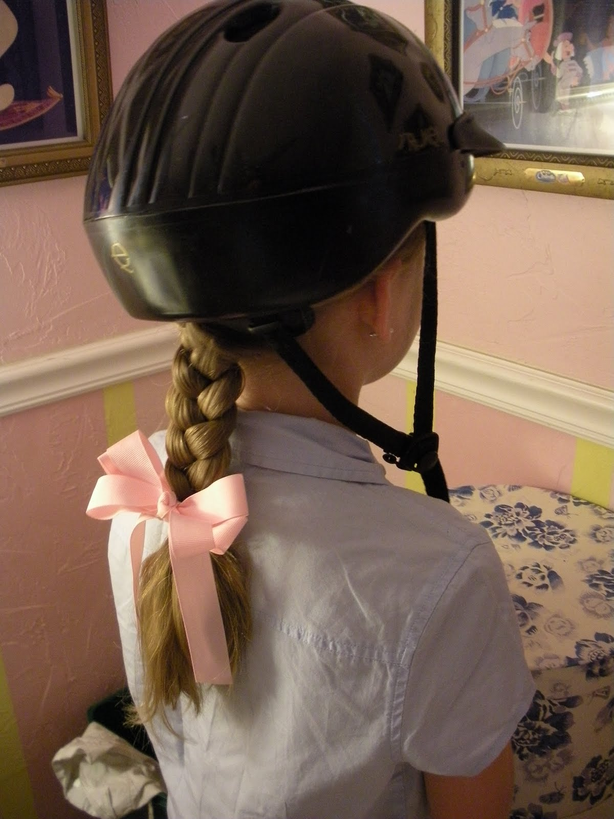 Horse Riding Hairstyles for Girls