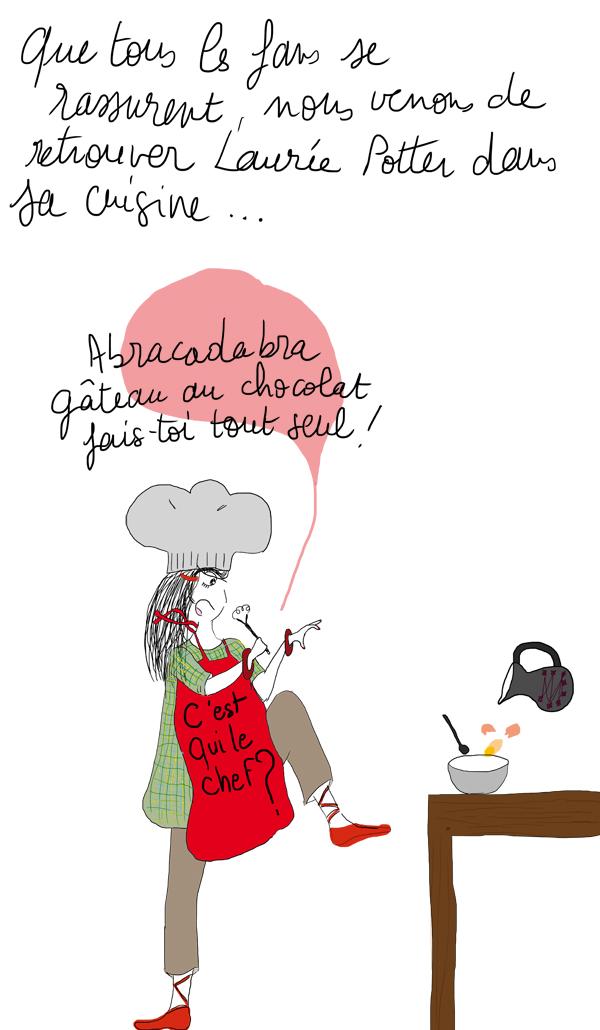 gagnant jeu concours La vie selon L., illustration de Lucie Paris legret