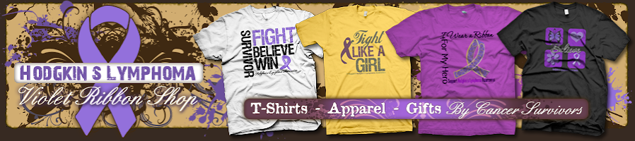 The Hodgkin's Lymphoma Awareness Shop Blog