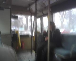 Op de lijnbus