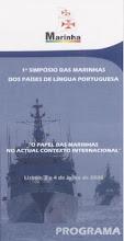 1º Simpósio das Marinhas dos Países de Língua portuguesa