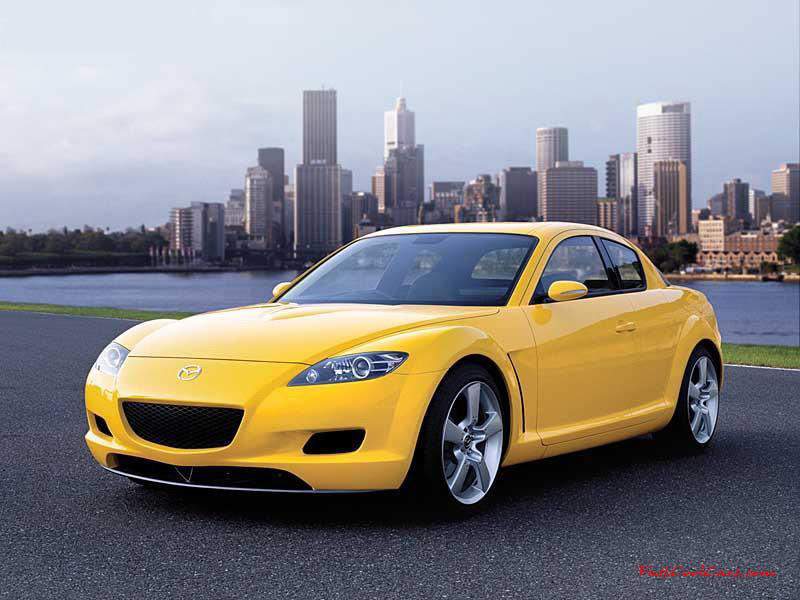 Mazda RX8 1.3 (M) Yellow