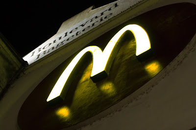 Prague - McDonald sign