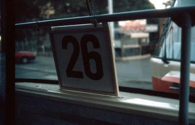 Prague tram number 26