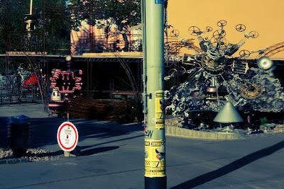 Weirdest Industrial Sculptures Place in Prague