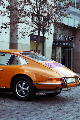 Porsche in Prague