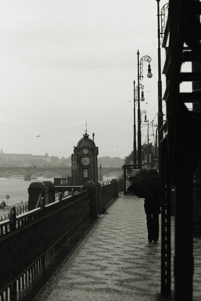 Prague - under the bridge