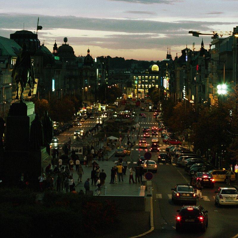 Prague - Wenceslas square