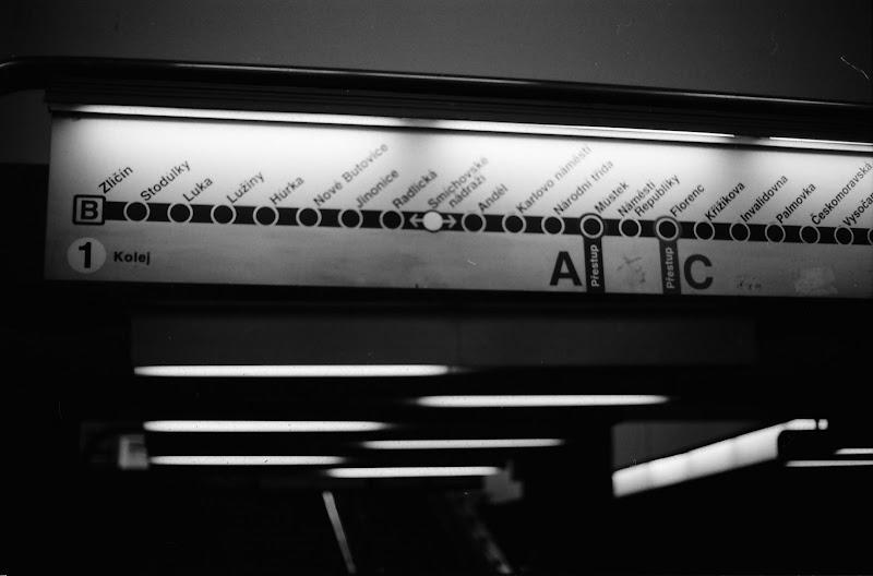 Prague - Metro B line