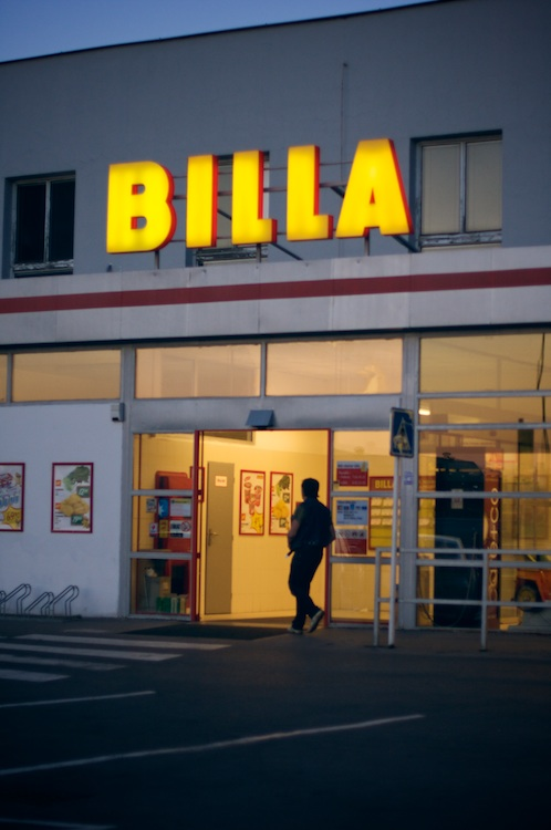 BILLA grocery store at Argentinska street, Prague