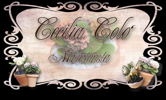 Cecilia Coló  Miniaturista