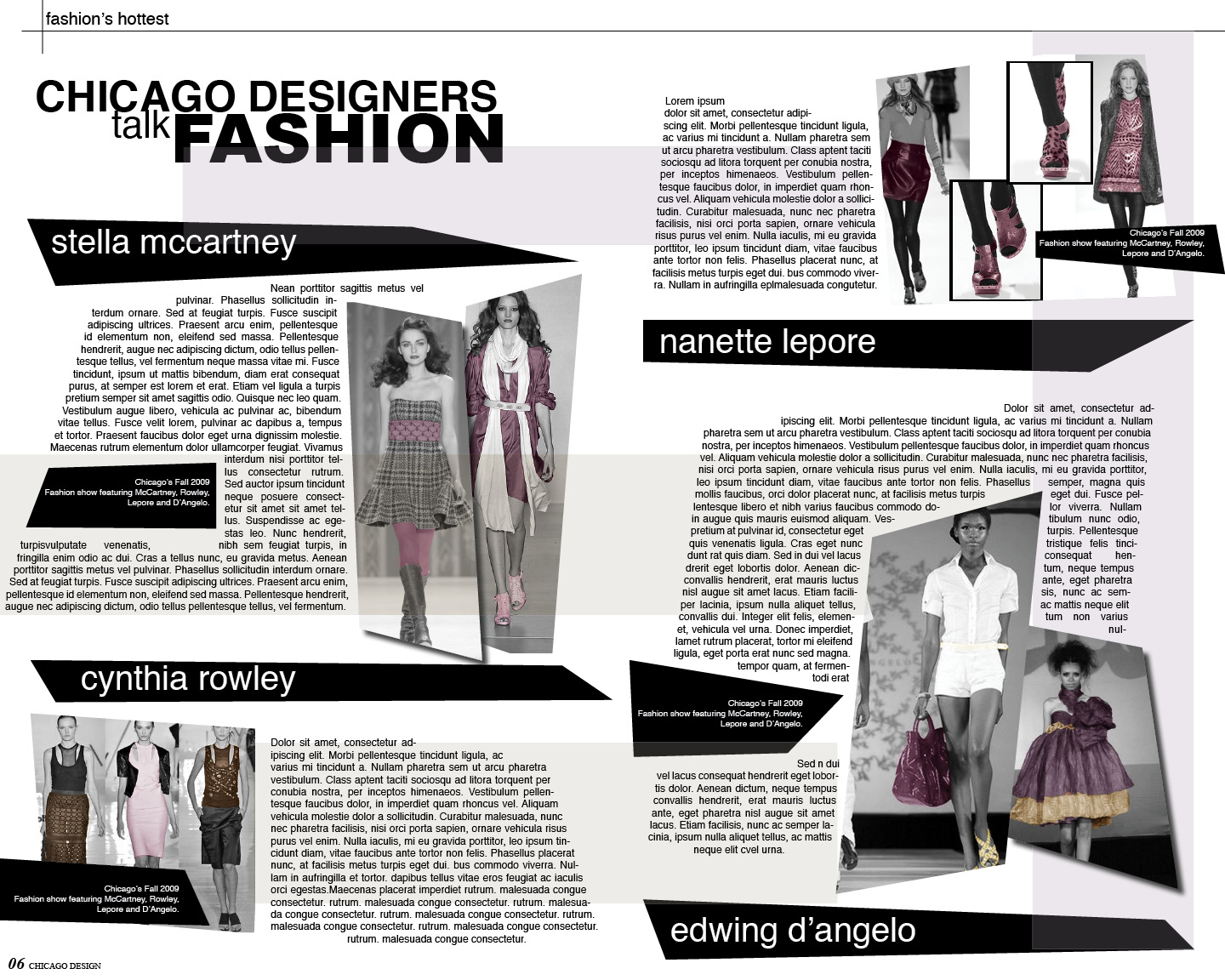 17 Best ideas about Fashion Magazine Layouts on Pinterest ...