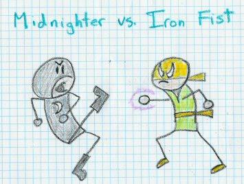 Winner fights the Batman.