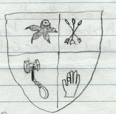 Kiser Coat Of Arms. coat of arms for my dude.