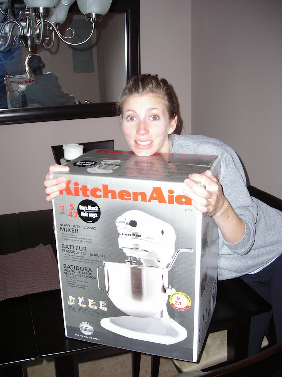 Just me and my first kitchenaid mixer