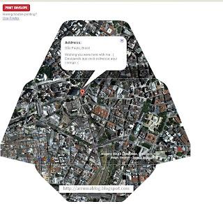 IMAGEM: Maps da Google em carta aberta