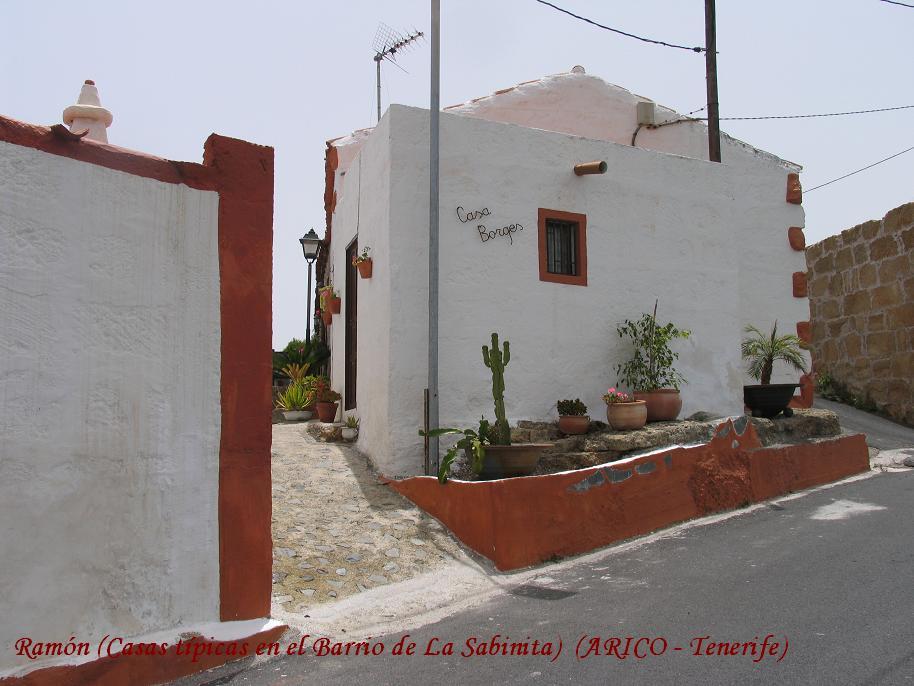 Recuerdos del pasado casas tipicas en el barrio de la sabinita arico tenerife - Trabajo desde casa tenerife ...