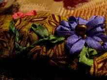 .:: Purple and Pink flower cuff ::.
