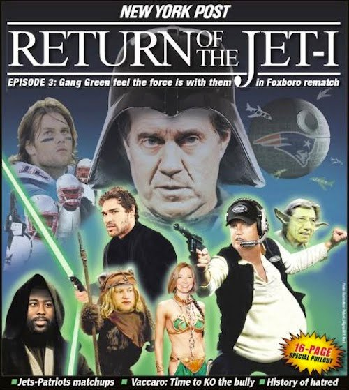 star wars jets pats.  the nearly eight-month history of the Ny+post+jets+patriots+star+wars