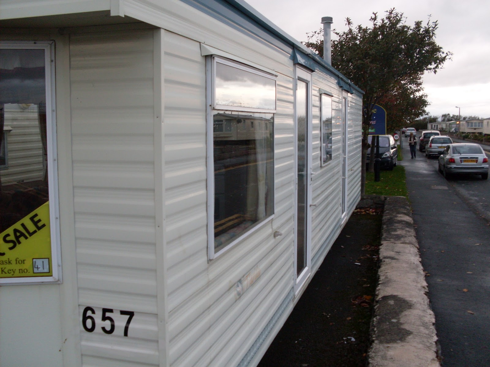 Original  For The Caravan At Tymawr Caravan Park In Towyn She Booked A Seven