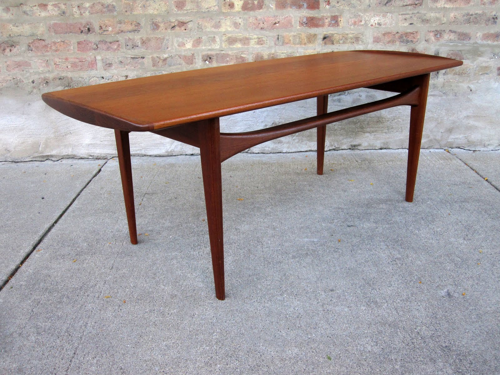 Circa Midcentury 39 Finn Juhl 39 Teak Coffee Table