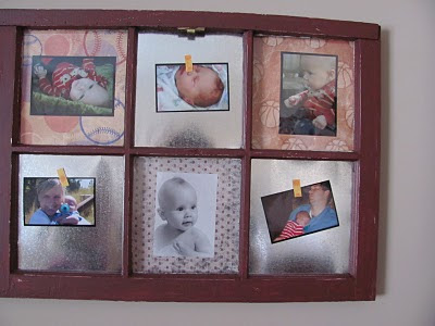 Someday crafts old window recap for Old window craft ideas