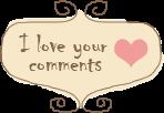 Amamos seus comentários!!!!