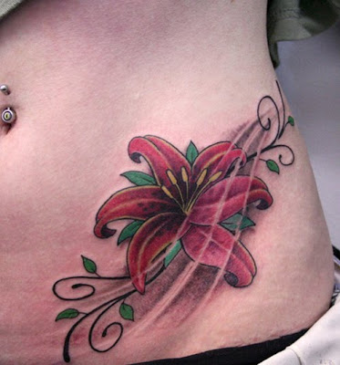 Cute Tattoos on Populer Tattoo Design  Best Cute Flower Tattoo Designs For Women