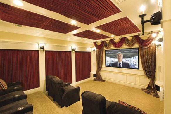 Luxury home theater designs with exclusive decor ideas for Home theatre ideas design