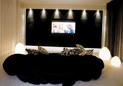 Home Theatre Design Ideas on Cool Home Theater Design Ideas   Home Design Ideas