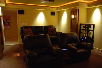 basement diy theater home design ideas. Black Bedroom Furniture Sets. Home Design Ideas
