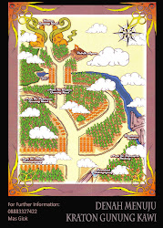 Peta Kraton Gunung Kawi