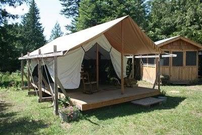 Apropos of nothing colorado yurt company platform tents for Colorado canvas tent