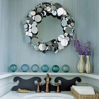 Benita loca blog for Decoration miroir
