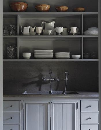 Papier Peint Cuisine Gris - Papier peint cuisine gris Papiers peints Bricorama