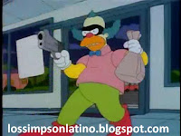 Krusty en la carcel, bob patiño, los simpson latino
