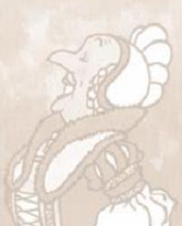 Vision personnelle, d'après Hergé, de Bianca Castafiore, dite 'le Rossignol milanais'