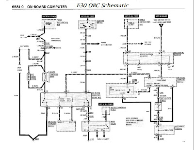 E30+OBC+Scematic bmw e30 obc wiring diagram bmw wiring diagrams instruction e30 headlight switch wiring diagram at beritabola.co