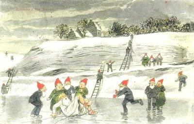 Julehilsen fra Klintekongen Påls - klik for større billede