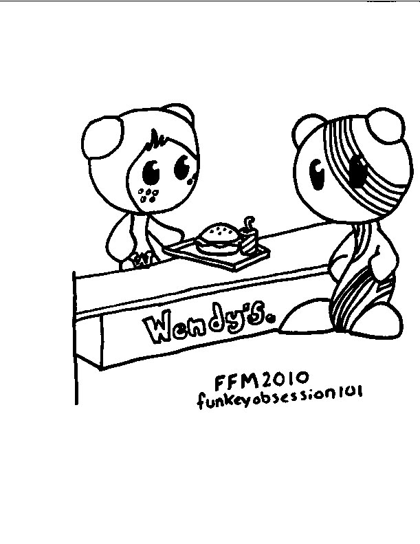 ub funkey coloring pages - photo#6