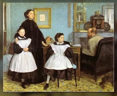 The bellelli family di degas - Venere allo specchio velazquez ...