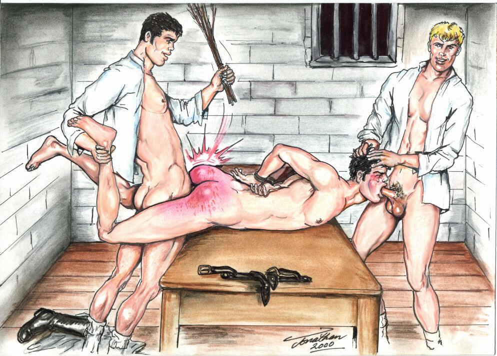 в рассказы тюрьме порно наказание