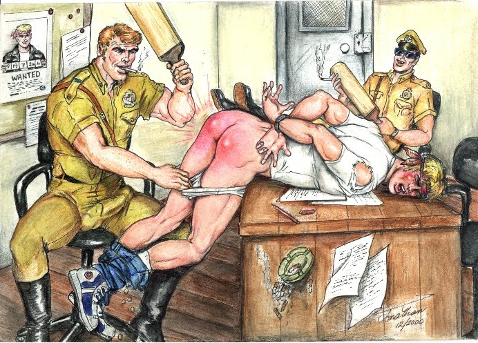 Cop spank photos and young boy spanking